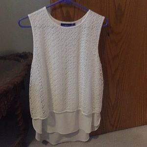 APT.9 sz large white summer top. Worn once